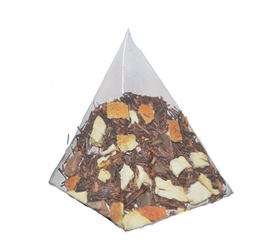 Rooibos, Canela y Naranja, cajita de 25 piramides.
