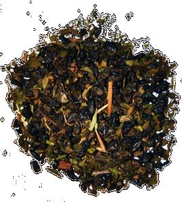Te Verde gunpowder con hojas de hierbabuena bolsa de 100 grs
