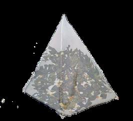 Te Azúl ó Oolong, con trocitos de limón, cajita de 25 piramides.