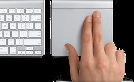 Apple Magic Trackpad - Беспроводной трекпад для MacBook/iMac MC380ZM/B