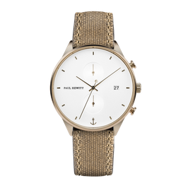 Paul Hewitt Chrono White Sand Bronze Canvas