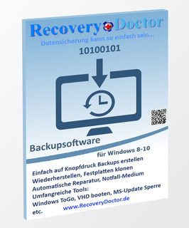 RecoveryDoctor - Backup und Reparatur System für Windows 8-10, Mac OS X (für den Dual Boot von Windows 8-10).