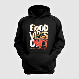 Good Vibes Only Hooded Sweater