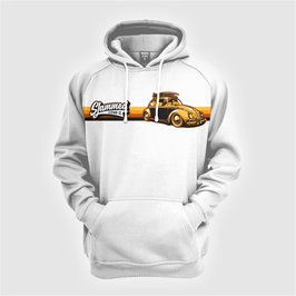 'Surfy orange juiced striped Bug' hoody