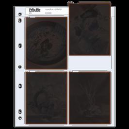 Printfile Negativhüllen  4x5'' Planfilm