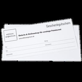 Edition Argentum Geschenkgutschein