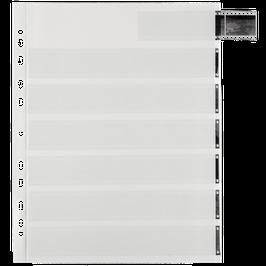 Archivpapier Negativhüllen für 35mm Kleinbildfilm (25 Stück)