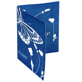 Cyanotypie Grußkarten