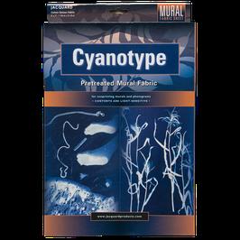 Cyanotypie Stoffbogen Großformat (1,52 m x 2,13 m)