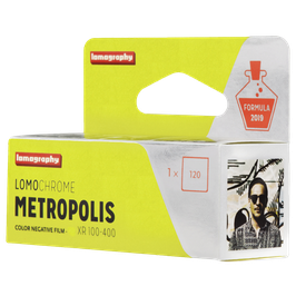 Lomochrome Metropolis 120er Mittelformatfilm