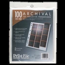 Printfile Negativhüllen 120er Mittelformat Hochformat