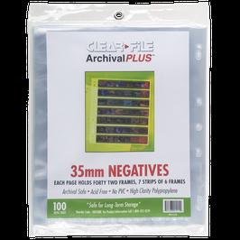 Clearfile PP Negativhüllen Kleinbild (35mm) / extrabreit
