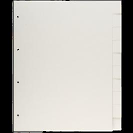 Archivpapier Registerblätter