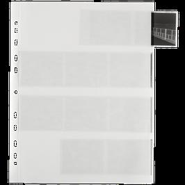 Archivpapier Negativhüllen für 120er Mittelformatfilm  (25 Stück)