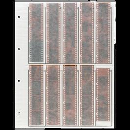 Pergamin Negativhüllen für KB - 4er Streifen