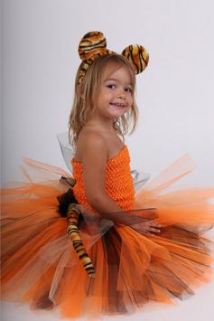 Costume robe tutu tigre - Déguisement de Tigre