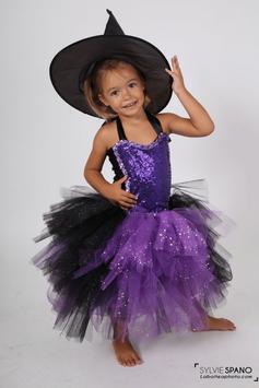 Costume de sorcière - Déguisement Halloween