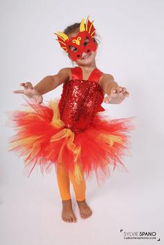 Robe tutu de Dragon - Costume d'Halloween