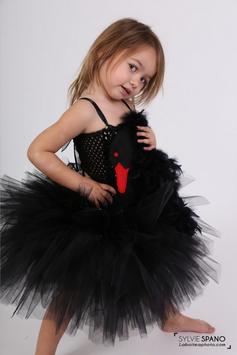 Costume Cygne Noir - Déguisement Cygne Noir