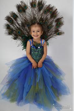 Costume de paon avec roue - Déguisement Paon