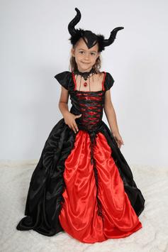 Robe sorcière maléfique - Costume d'Halloween