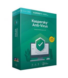 ANTIVIRUS KASPERSKY 2020 - 1 DISPOSITIVO - 1 AÑO - NO CD
