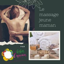 Bon Cadeau Massage Jeune Maman