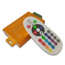 Контроллер для RGB неона 220в с радио пультом