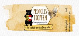 """Selbstklebende Etiketten für Flaschen """"PROPOLISTROPFEN"""" - inkl. individuellem Bedruck"""