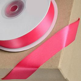 Satinband pink 38 mm - 5 Meter