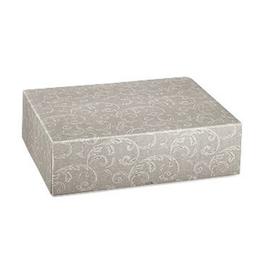 XL Geschenkbox Milano grau - 59x40x14,5 cm