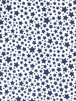 Geschenkpapier Sternenregen blau - 2 Bogen