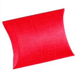 Kissen Geschenkschachtel rot groß, 10 Stück