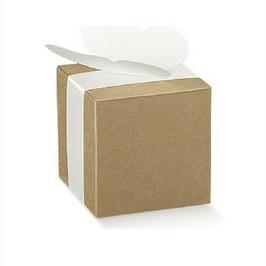 Würfel Geschenkschachtel Kraftkarton 6x6