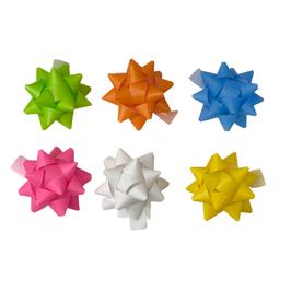 Selbstklebende Papiersterne  Sortiment - 6 Stück