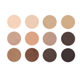 11er, 12er und 15er Palette mit Lidschatten und tw. Rouge