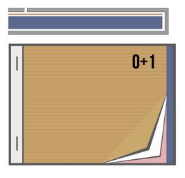 Talonario A6. O+Copia 1 tinta SIN numerar