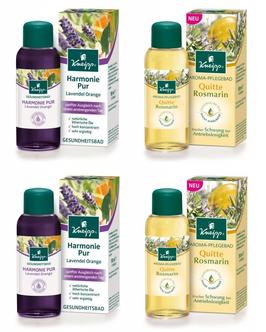 Kneipp Aroma-Pflegebad Quitte & Rosmarin + Lavendel & Orange,