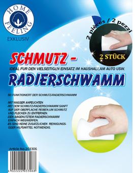 Schmutz Radierschwamm  (2er Pack)
