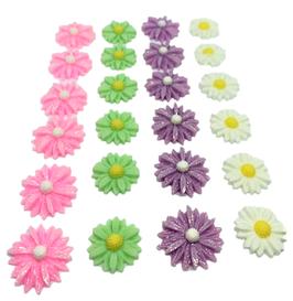 デコパーツ(花4種)