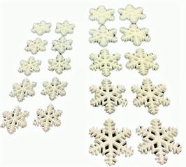 デコパーツ(雪の結晶)