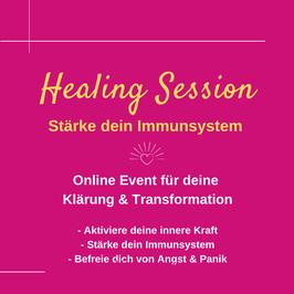 HEALING SESSION | Aktiviere deine innere Kraft & stärke dein Immunsystem