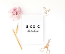 5,00 € Gutschein bei kreador zum Selbstausdrucken