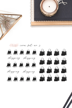 Shopping Planner Icons