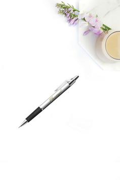 Plannergirl Kugelschreiber weiß/gold