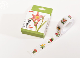 Washi Tape Smile of Flowers
