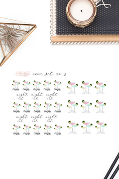 Night Out Planner Icons