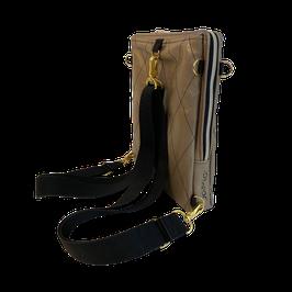 JaMia® Rucksack 4-BOY BP gold, schwarz + gold