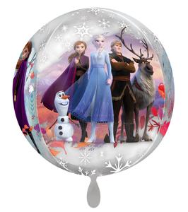 """Ballon Orbz Frozen 2  15""""/38cm"""