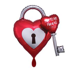 Folienballon XXL - Key to My Heart